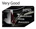 2010 Canadian Web Award