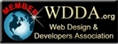 Member of Web Design and Developers Association